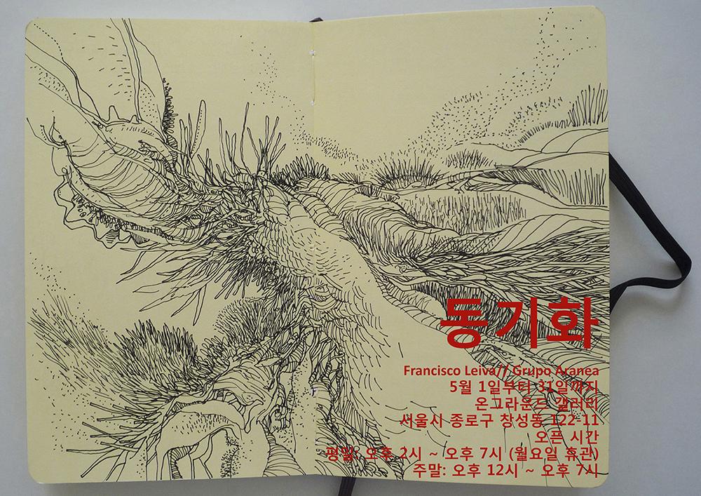 grupo aranea corea lib 1000